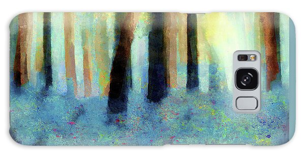 Bluebell Wood By V.kelly Galaxy Case