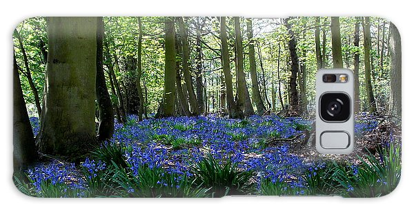 Bluebell Woods Galaxy Case