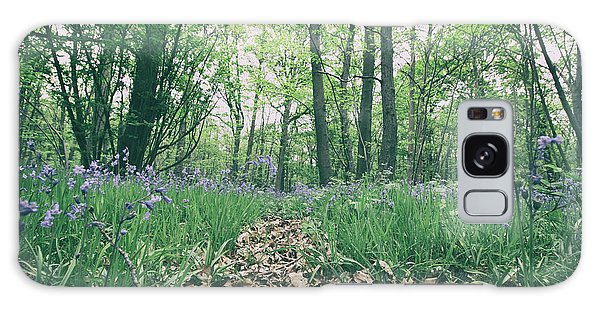 Bluebell Galaxy Case - Bluebell Woods by Martin Newman