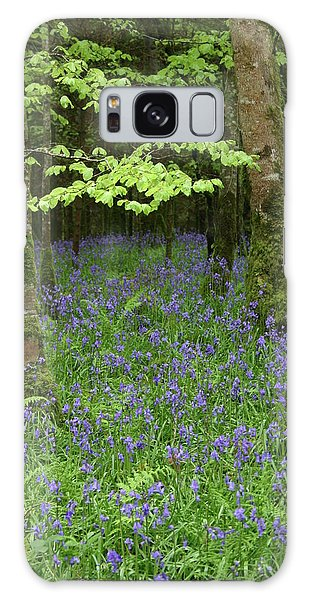 Bluebell Woods Galaxy Case by Martina Fagan