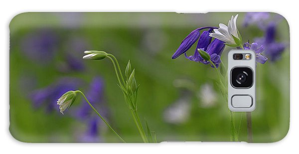 Bluebells And Stitchwort  Galaxy Case