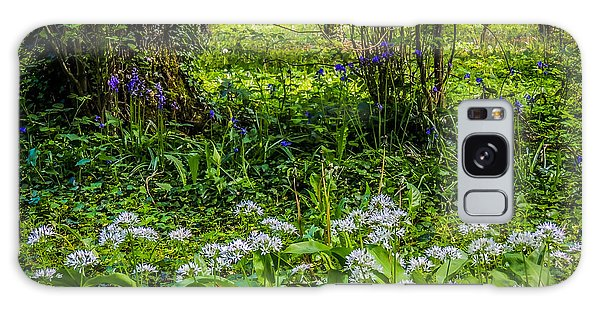 Bluebells And Wild Garlic At Coole Park Galaxy Case