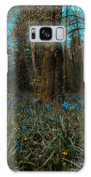 Bluebells In Lismore Forest 2 Galaxy Case