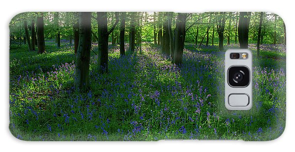 Bluebells In Oxey Woods Galaxy Case