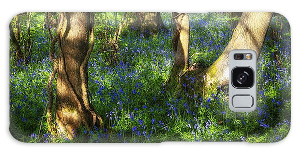 Bluebell Galaxy Case - Bluebells In The New Forest by Joana Kruse
