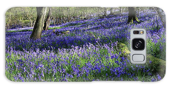 Galaxy Case featuring the digital art Bluebells by Julian Perry