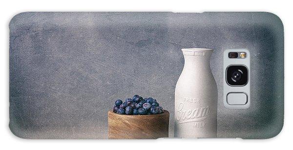 Food Galaxy Case - Blueberries And Cream by Tom Mc Nemar