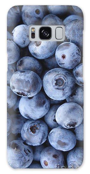 Blueberries Foodie Phone Case Galaxy Case by Edward Fielding