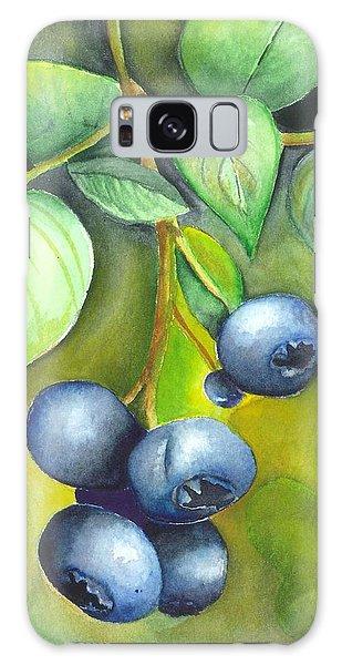Blueberrries Galaxy Case