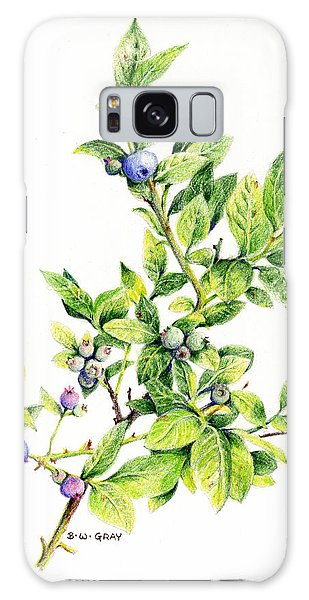 Blueberry Branch Galaxy Case