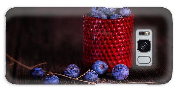 Blueberry Delight Galaxy Case
