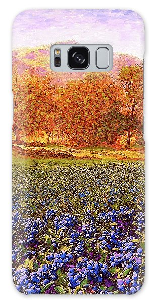 Florida Galaxy Case - Blueberry Fields Season Of Blueberries by Jane Small