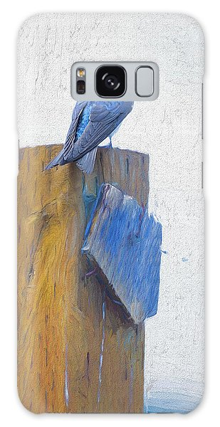 Galaxy Case featuring the photograph Bluebird by James BO Insogna