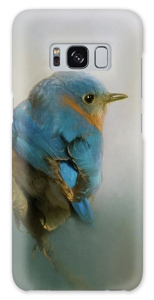 Eastern Bluebird Galaxy Case - Bluebird by Lana Trussell