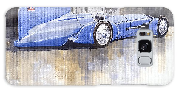 Bluebird Galaxy Case - Bluebird World Land Speed Record Car 1931 by Yuriy Shevchuk