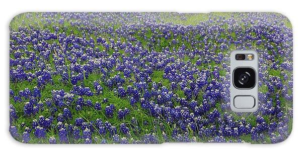 Bluebonnet Field Galaxy Case by Robyn Stacey