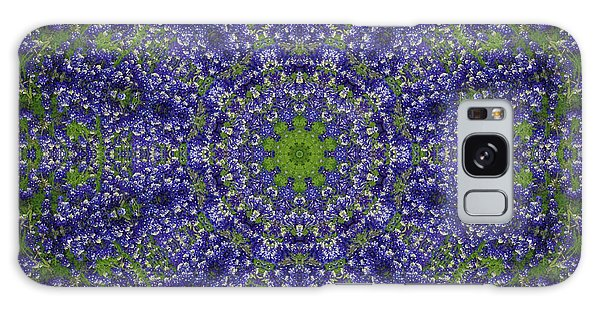 Bluebonnet Lace Kaleidoscope Galaxy Case