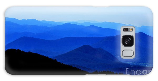 Blueridge Mountains - Parkway View Galaxy Case