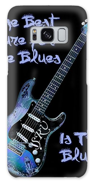 Blues Is The Cure Galaxy Case