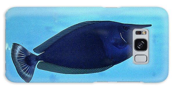 Bluespine Unicorn Fish Galaxy Case