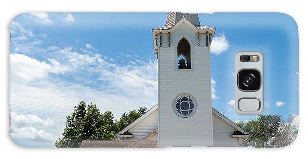 Bluffs Trinity Lutheran Church Galaxy Case by Edward Peterson