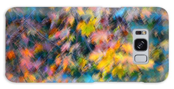 Blurred Leaf Abstract 3 Galaxy Case