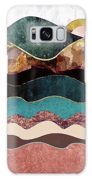 Landscape Galaxy Case - Blush Moon by Katherine Smit