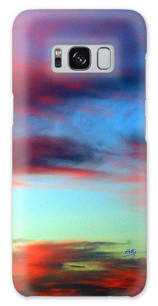 Blushed Sky Galaxy Case by Linda Hollis