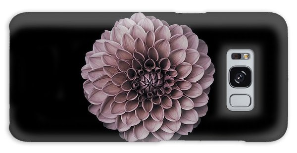 Blushing Dahlia  Galaxy Case