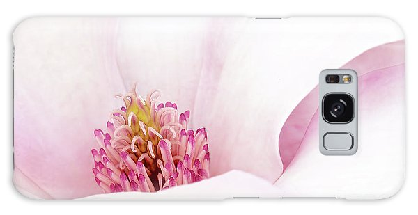 Blushing Magnolia Galaxy Case