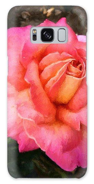 Blushing Rose Galaxy Case