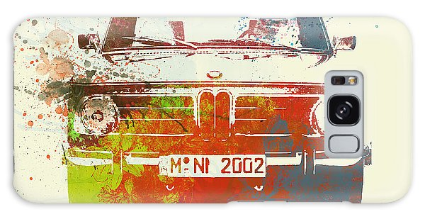 Classic Galaxy Case - Bmw 2002 Front Watercolor 2 by Naxart Studio