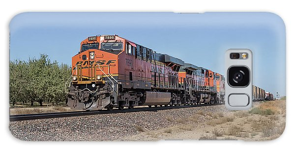 Galaxy Case featuring the photograph Bnsf7890 by Jim Thompson