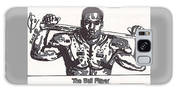 Bo Jackson The Ball Player Galaxy Case by Jeremiah Colley