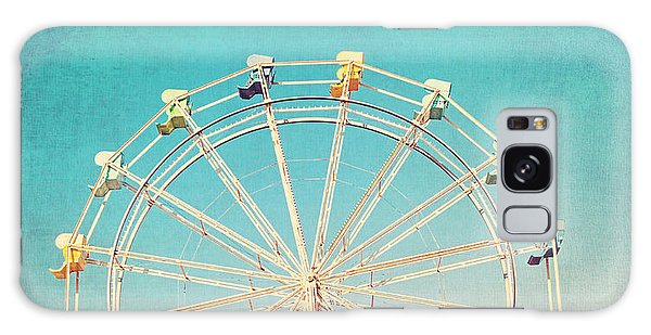 Boardwalk Ferris Wheel Galaxy Case
