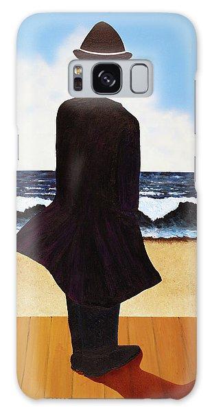 Boardwalk Man Galaxy Case