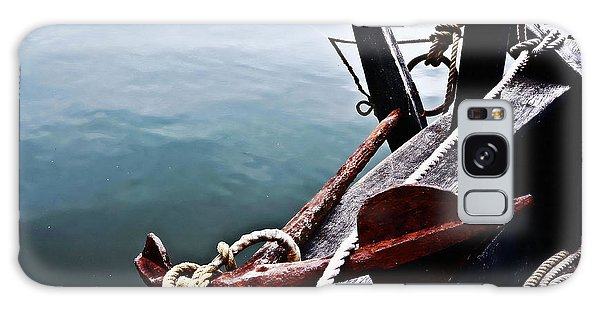 Boat Anchor Galaxy Case by Rena Trepanier