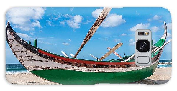 Boat Ashore Galaxy Case