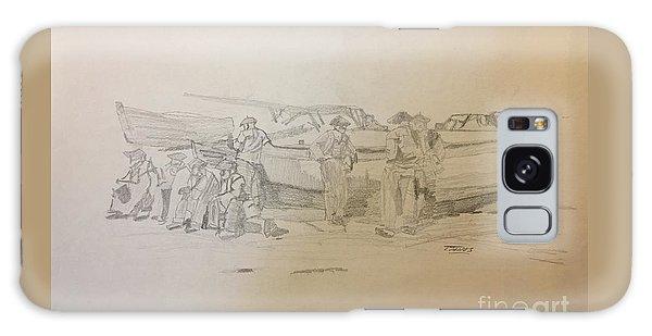Boat Crew Galaxy Case