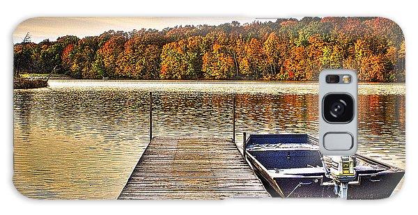 Boat Dock Le-aqua-na II Galaxy Case