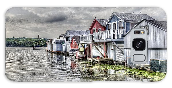Boat Houses In The Finger Lakes Galaxy Case