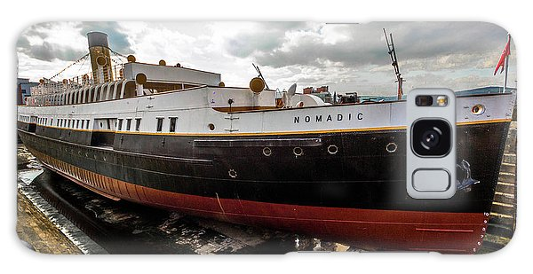 Boat In Drydock Galaxy Case