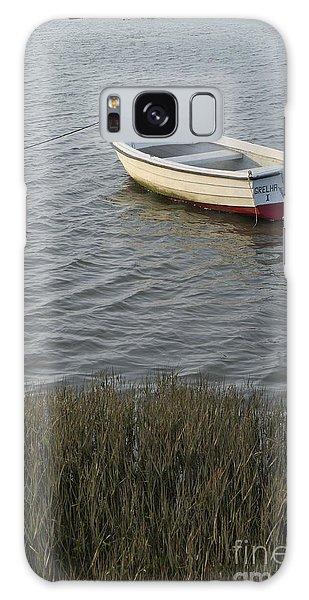 Boat In Ria Formosa - Faro Galaxy Case by Angelo DeVal