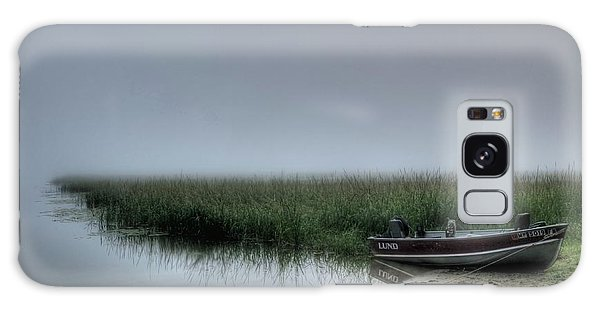 Boat In The Fog Galaxy Case
