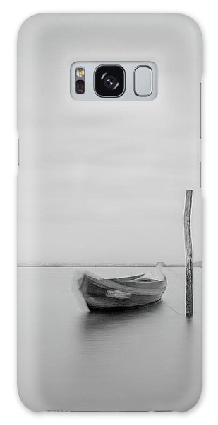Galaxy Case featuring the photograph Boat On A Stick by Bruno Rosa