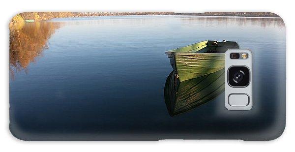 Active Galaxy Case - Boat On Lake by Nailia Schwarz