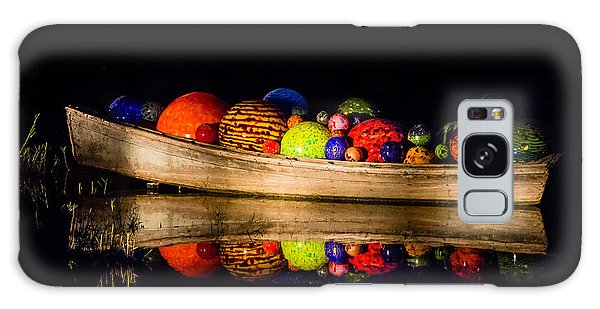 Boat Reflections Galaxy Case