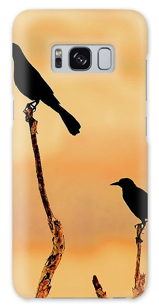 Boat Tailed Grackles Galaxy Case
