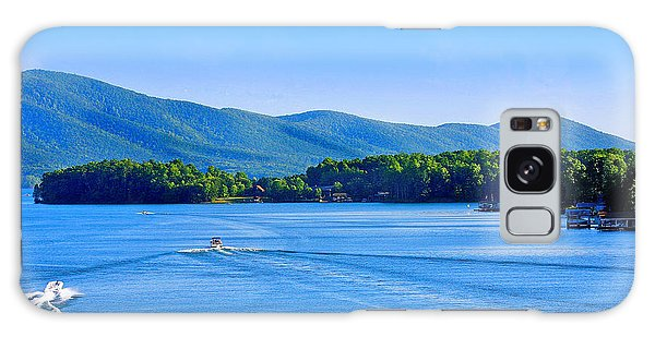 Boaters On Smith Mountain Lake Galaxy Case