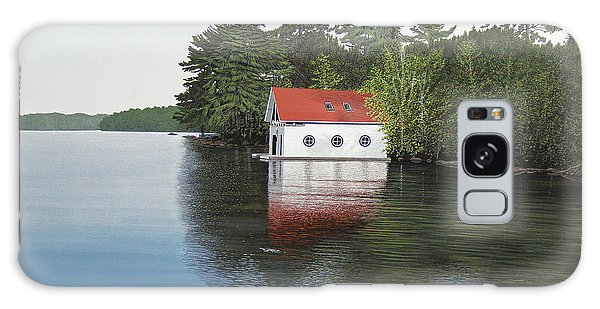 Boathouse Galaxy Case by Kenneth M  Kirsch